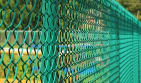 Architectural Color Coated Chain Link Systems