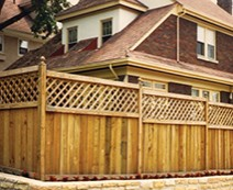 Western Red Cedar Wood Fencing from Cedar Springs Fence