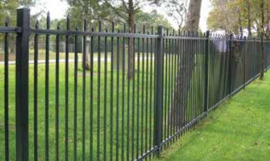 Montage Plus Welded Ornamental Steel Fence