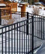 Versai Welded Residential Ornamental Steel Fence